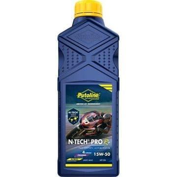Putoline N-Tech Pro R+ 15W/50 Fully Synthetic N-Tech Motorcycle Motorbike Oil 1L